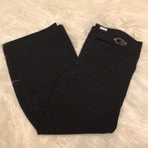 Armani Collezioni striped dress pants